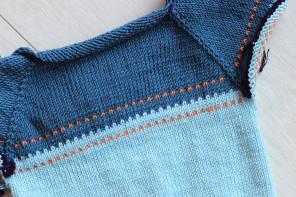 Sweterek mini – część pierwsza