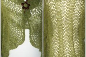 Piórkowy sweterek