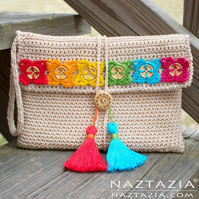 crochet-bohemian-clutch-flower-button-tassel-naztazia